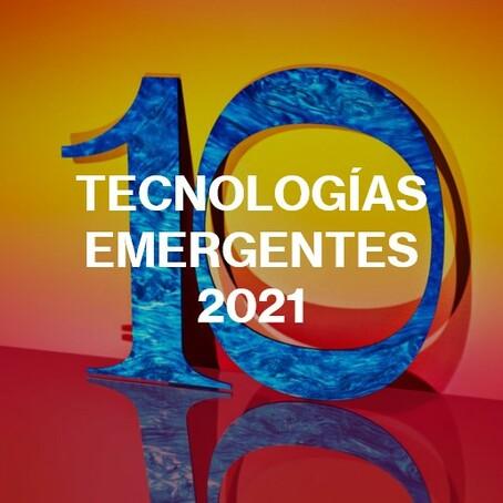 10 Tecnologías Emergentes 2021 | MIT Technology Review en español