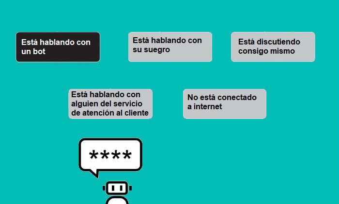 INFOGRAFÍA: Guía para averiguar si está conversando con un bot