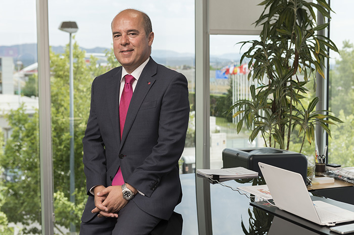 El presidente y CEO de LG Electronics Iberia, Jaime de Jaraíz