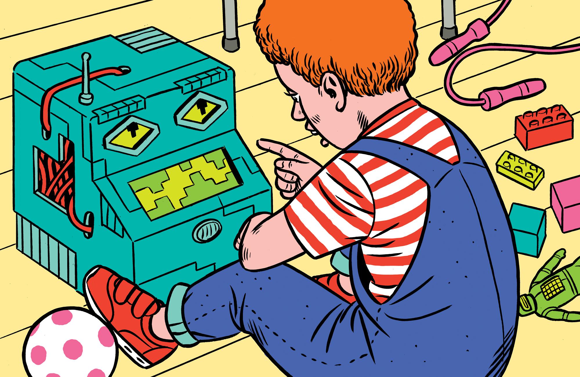 Crecer con Alexa: ¿cómo serán los niños que conviven con mayordomos robóticos?