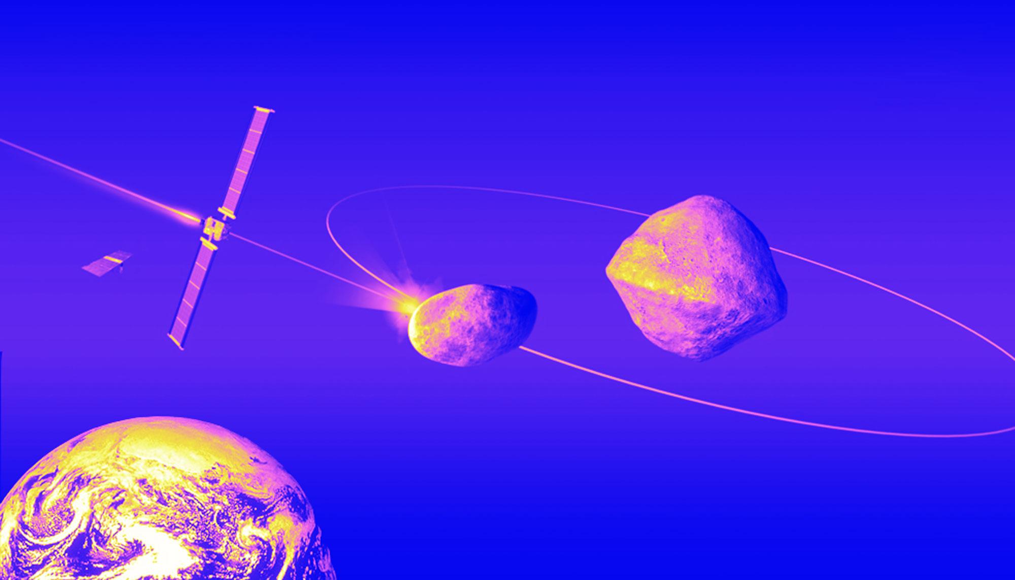 La humanidad va a estrellar una nave contra un asteroide por primera vez