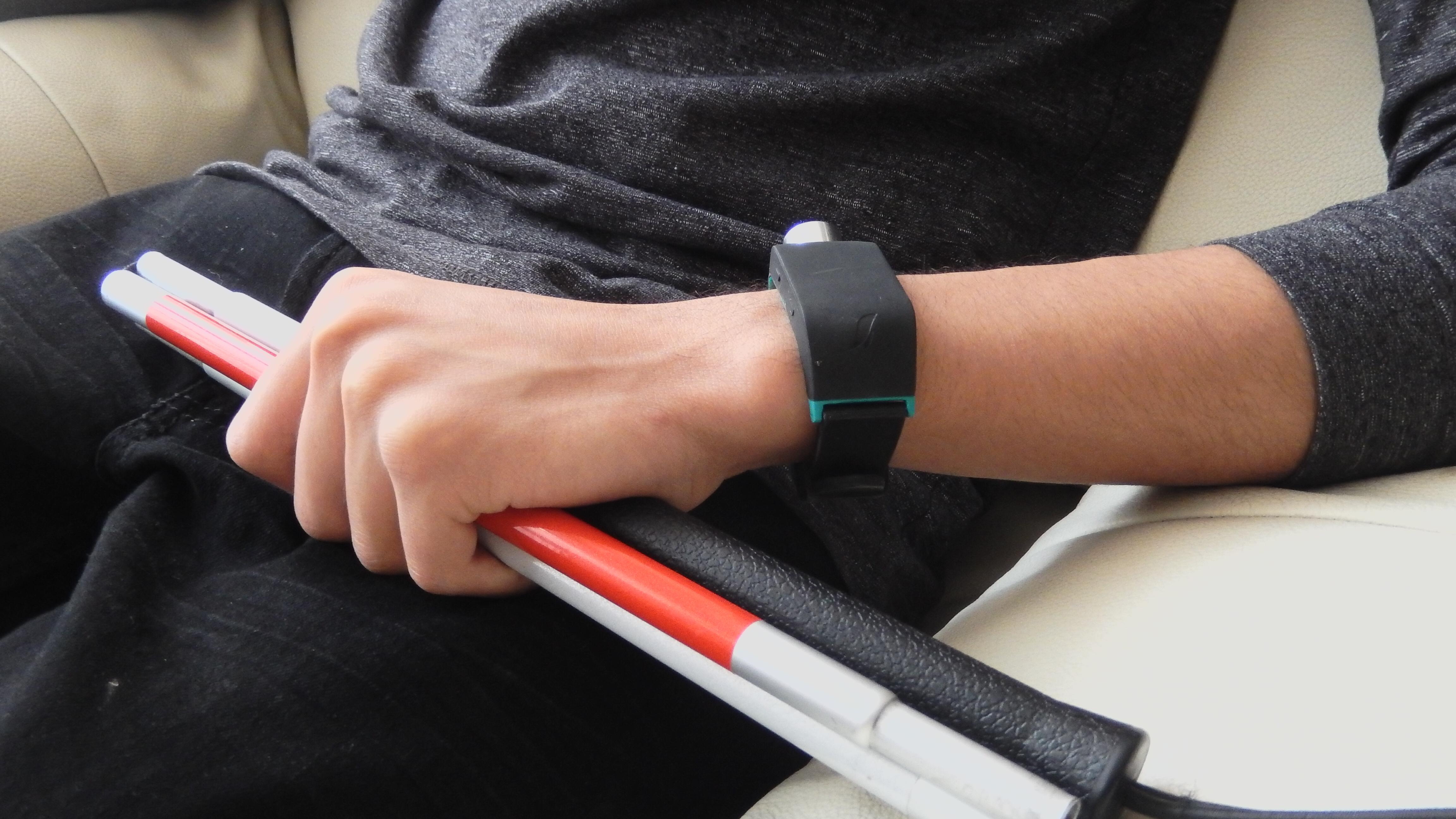 Un modelo del reloj inteligente o 'smartwatch' creado por Sunu