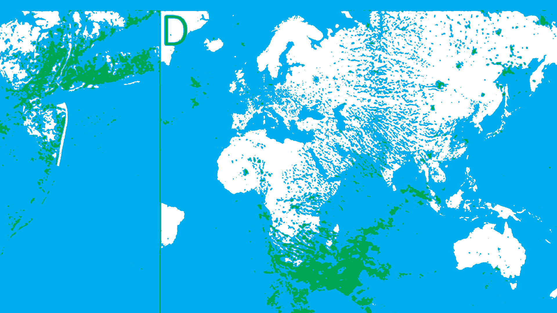 Este es el mapa más detallado de la huella humana en el planeta