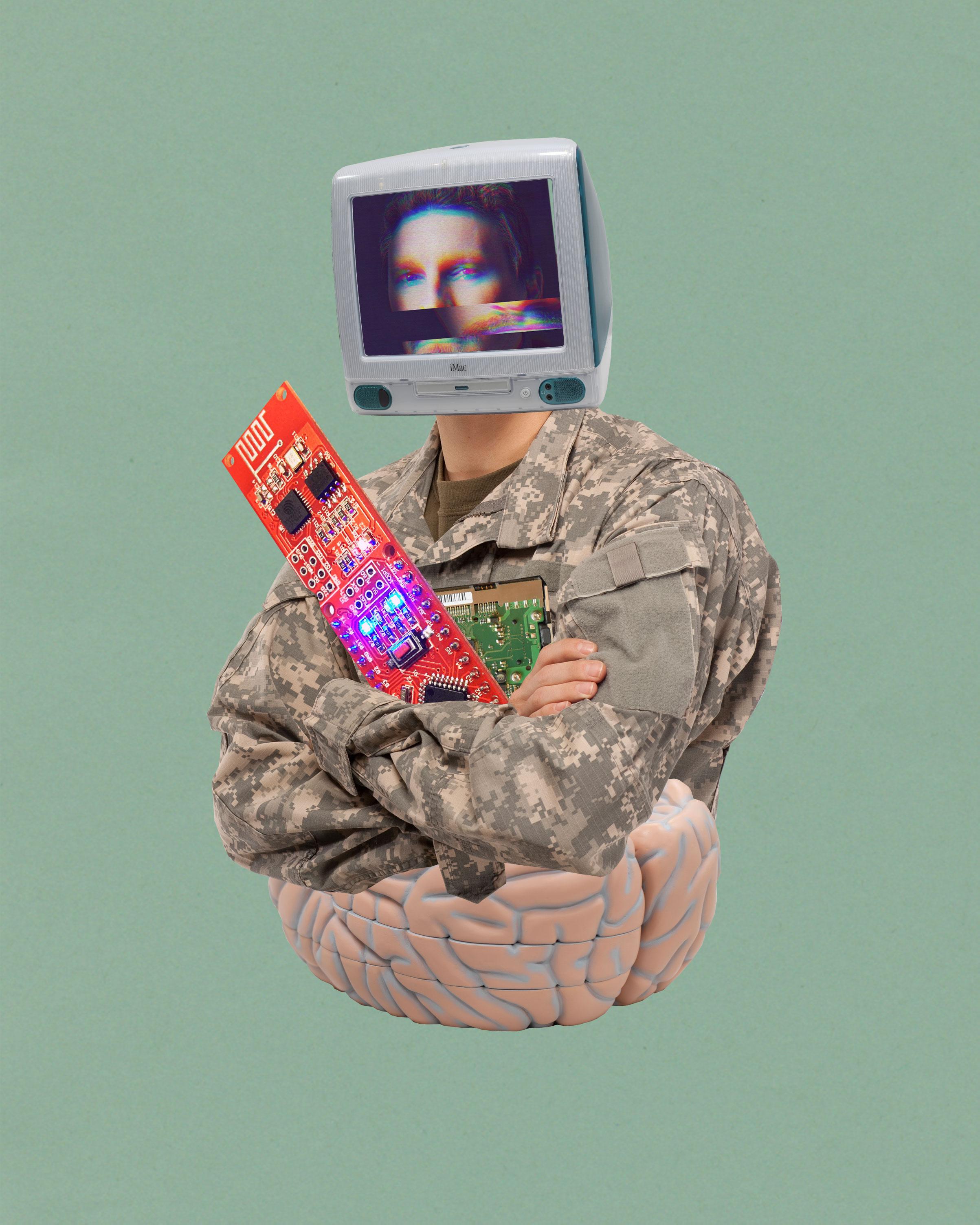 DARPA quiere aprender a leer la mente para fabricar supersoldados