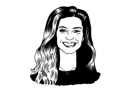 Ilustración del rostro de Mary Mossey