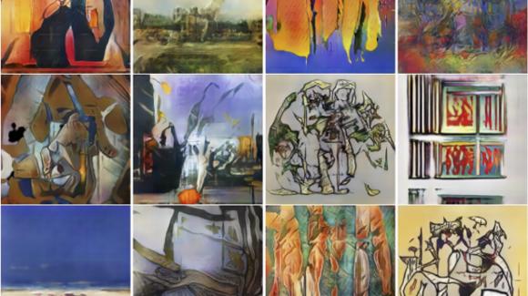 aprendizaje de máquinas, inteligencia artificial, cuadros, creatividad, arte, red antagonista creativa